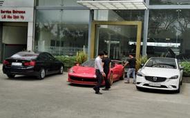 Ferrari 458 Italia độ Liberty Walk độc nhất Việt Nam bất ngờ xuất hiện tại vị trí khiến nhiều người lo lắng