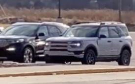 Ford Bronco Sport lộ mặt, so kè Explorer đời mới