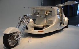 Rao bán Harley-Davidson lai limousine: Nửa xe máy, nửa ô tô nhưng mua về chưa chắc dùng được