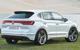 Volkswagen Tiguan Coupe xuất hiện, một vài đường nét hao hao BMW X4