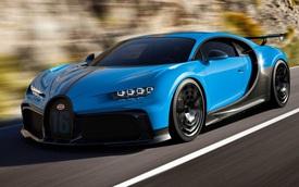 Bugatti Chiron Pur Sport chào hàng với nâng cấp khí động học, hệ thống treo