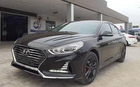 Hyundai Sonata bản nâng cấp mới xuất hiện tại Việt Nam, nguồn gốc khiến nhiều người tò mò