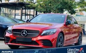 Mercedes-Benz C-Class giảm giá mạnh tay tại Việt Nam, tạo sức ép lên BMW 3-Series mới sắp ra mắt