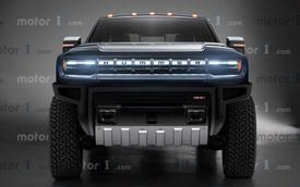 Cadillac sẽ sớm có siêu SUV full-size dùng chung khung gầm với Hummer EV