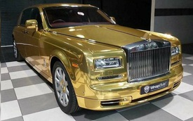 Đại gia mua Rolls-Royce Phantom về làm... taxi, diện hẳn bộ cánh 'mạ vàng' thể hiện độ chịu chơi