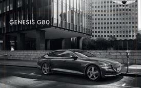 Genesis G80 khoe trọn bộ catalog: Toàn tiếng Hàn khó hiểu nhưng xem đã mắt