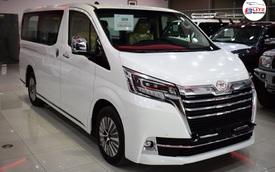 Toyota Granvia 2020 giá 3,072 tỷ đồng tại Việt Nam: MPV thương gia dự kiến ra mắt trong tháng 5