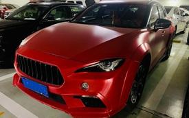 """Mê Maserati nhưng chỉ có Mazda CX-4, chủ xe tự chế """"Mazderati"""""""