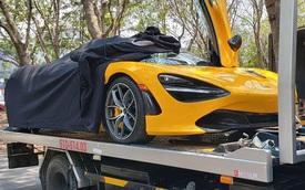 McLaren 720S Spider màu vàng chính thức thông quan với hàng loạt tùy chọn đắt tiền