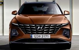 Xem trước Hyundai Tucson 2021: 'Thiết kế góc cạnh như siêu SUV Lamborghini Urus'
