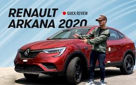 Đánh giá nhanh Renault Arkana vừa về Việt Nam: 'BMW X4 giá rẻ' cho người không thích Honda CR-V