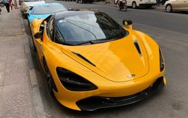 Vừa thông quan, McLaren 720S mui trần hàng hiếm bất ngờ xuất hiện trên phố Sài Gòn