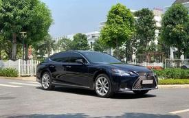 Dùng xe 2 năm lỗ 2 tỷ, đại gia Việt bán Lexus LS 500h giá hơn 6 tỷ đồng