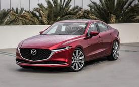Xem trước Mazda6 thế hệ mới: Động cơ đặt dọc, dẫn động cầu sau như BMW hòng cướp khách của Toyota Camry