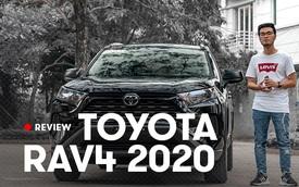 Đánh giá nhanh Toyota RAV4 2020 'taxi' vừa về Việt Nam: Đừng vội hạ thấp xe 2 tỷ rưỡi nhưng ghế nỉ chỉnh cơ