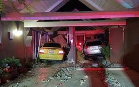 Góc cạn lời: Chủ xe Ford Mustang đâm vào nhà dân, lấy trộm Toyota RAV4 để bỏ trốn nhưng lại đâm lại vào chính ngôi nhà đó một lần nữa