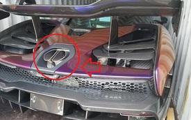 Chi tiết lạ trên siêu xe McLaren Senna của đại gia Hoàng Kim Khánh khiến nhiều người khó hiểu