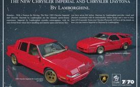 Những chiếc Lamborghini này có thể đã trở thành hiện thực nếu như không có sự cố tình phá rối