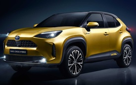 Ra mắt Toyota Yaris Cross - Tiểu RAV4 đấu Hyundai Kona