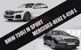 BMW 730Li M Sport đối đầu Mercedes-Benz S 450 L: Cuộc đua sedan hạng sang giá hơn 4 tỷ đồng gay cấn tại Việt Nam