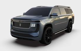 Ra mắt TritonEV - Tên thì giống bán tải của Mitsubishi, thiết kế lại na ná Cadillac Escalade