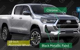 Lộ diện Toyota Hilux 2020: Thiết kế như Tacoma, nhiều nâng cấp đáng chú ý, tăng sức đấu Ford Ranger