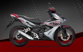 Quyết đấu Yamaha Exciter, Honda Winner X thêm màu sơn mới, giá 49 triệu đồng, mời luôn cả Đen Vâu làm đại sứ