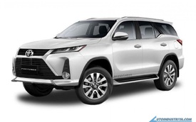 Xem trước Toyota Fortuner 2021 chuẩn bị ra mắt: Chờ ngày về Việt Nam đấu Ford Everest và Mitsubishi Pajero Sport