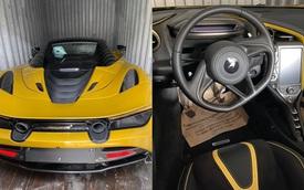 Khui công McLaren 720S Spider thứ 4 tại Việt Nam, màu sơn lạ khiến nhiều người bàn tán