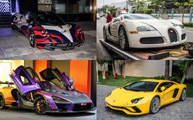 Giá xăng giảm, đổ xăng cho những chiếc siêu xe đình đám nhất Việt Nam sẽ tốn bao nhiêu tiền?
