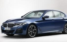 BMW 5-Series phiên bản mới chính thức nhá hàng, chạy đua với Mercedes-Benz E-Class