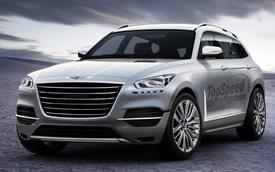 SUV Genesis hoàn toàn mới xuất hiện - Lời đáp trả Mercedes-Benz và Audi ở phân khúc xe điện