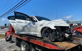 Chiếc BMW M5 2020 tan nát khi vừa rời đại lý được... 11 km