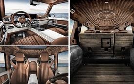 Mercedes-AMG G63 độ nội thất gỗ như siêu du thuyền - Cảm hứng mới cho đại gia Việt