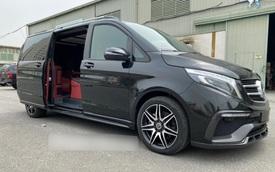 Đại gia Việt tậu Mercedes-Benz V250d độ nội thất phong cách chuyên cơ giá hơn 7 tỷ đồng