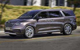Kia Sedona thế hệ mới thiết kế như Range Rover thêm phiên bản 'xe chủ tịch' với nội thất hứa hẹn sang xịn bất ngờ