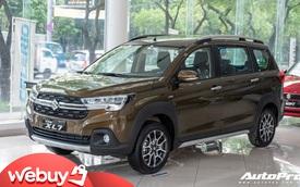 Đánh giá nhanh Suzuki XL7 giá 589 triệu đồng vừa về đại lý - Bản vá thức thời của Ertiga để đấu Mitsubishi Xpander