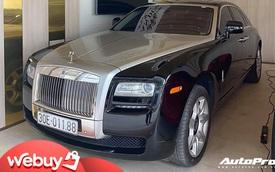 Rolls-Royce Ghost 10 tuổi bán lại vẫn đắt hơn Mercedes-Maybach S 450 L 'đập hộp'