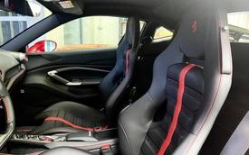 Cận cảnh nội thất với hàng loạt tuỳ chọn đắt tiền trên Ferrari F8 Tributo Cường Đô La vừa tậu