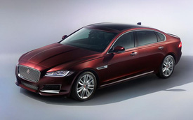 Jaguar XF trở lại với phiên bản L, sẵn sàng đấu BMW 5-Series, Mercedes-Benz E-Class