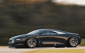 Nếu một ngày Rolls-Royce chế tạo siêu xe siêu sang...