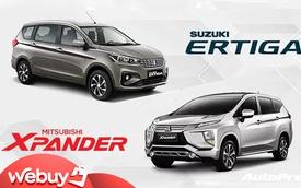 Suzuki Ertiga Sport vs Mitsubishi Xpander: Dùng giá rẻ, trang bị đối đầu vua doanh số