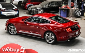 Bóc tách loạt trang bị độc đáo trên Ford Mustang 2020 vừa về nước, một chi tiết dễ gây nhầm lẫn