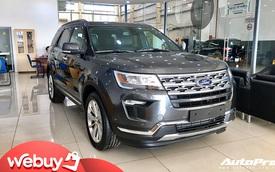 Ford Explorer giảm hơn 80 triệu đồng tại đại lý: Giá tiếp tục chạm đáy mới, ngày càng gần mốc 1,9 tỷ đồng