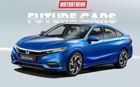 Tiết lộ ban đầu về Honda Civic thế hệ mới: Dùng cần số dạng nút bấm và những hứa hẹn hấp dẫn để đấu Mazda3