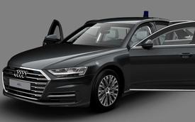 Ra mắt Audi A8 L Security: Bọc thép, khó cháy, chống đạn, khử độc, bảo vệ khách VIP