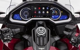Xe máy Honda giờ có cả Android Auto và Apple CarPlay như ô tô, khởi đầu bằng vua đường trường Gold Wing