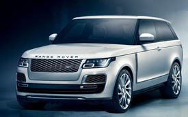 Range Rover 2022 lộ mặt lần đầu tiên, chạy thử cùng đối thủ đáng chú ý