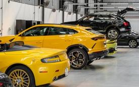 'Đột nhập' showroom siêu xe, siêu sang lớn nhất Việt Nam sắp khai trương: Ngoài Lamborghini, Bentley, Aston Martin còn 2 thương hiệu bí ẩn khác