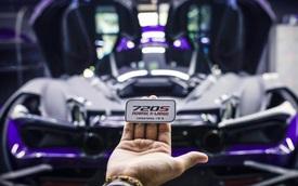 McLaren 720S của đại gia Vũng Tàu độ bodykit giới hạn 15 bộ toàn thế giới, nâng cấp ống xả với dấu ấn riêng